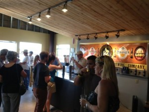 Tasting room at Pedernales Brewing