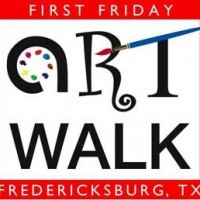 First Friday Art Walk in Fredericksburg, Texas