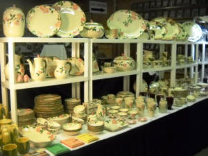Antiques for sale at Fredericksburg Fall Antique Show