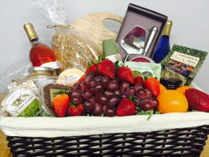 gift baskets delivered to your fredericksburg bed and breakfast
