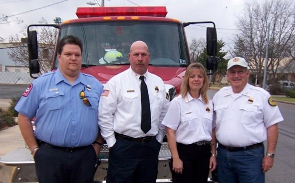 Harper Volunteer Fire Department Officers