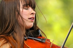 16-year-old Ruby Jane - fiddler, singer, songwriter, actress, and multi-instrumentalist bandleader - showcases her distinct Americana mix of country, jazz, bluegrass, and blues.